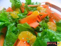 Ensalada de Lechuga y Mandarinas