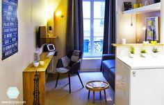 Studio 15m2 – Rénovation et décoration complètes – Paris VII