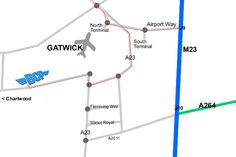 gatwick car parking space map » [Home Decorations] - HD Picture of ...