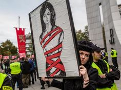 Poland abortion ban: Millions of women to take part in all-out strike in bid to bring economy to standstill ... The Independent 10-2-16 Poland Please Keep Stand for Defenseless