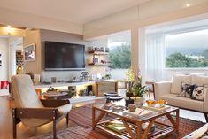 Um paraíso nas alturas. Veja: http://casadevalentina.com.br/projetos/detalhes/um-paraiso-nas-alturas-582 #decor #decoracao #interior #design #casa #home #house #idea #ideia #detalhes #details #charm #charme #style #estilo #casadevalentina #livingroom #saladeestar
