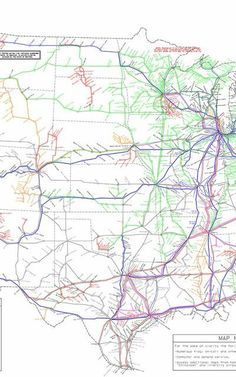 This Map Shows How To Get Anywhere You Want In America Without Taking A Plane | Co.Exist | ideas + impact