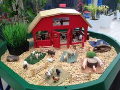 Farm Small World Play @ New Horizons Preschool