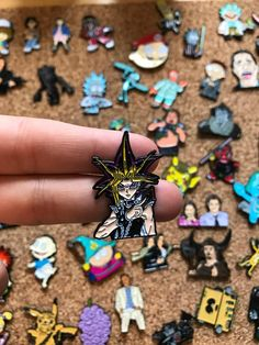 Details About The Item: - You Will Receive One Custom Enamel Pin! - Each Pin is Roughly Inches - Each Pin has a Secure Rubber Clutch on the Back - We sell only the Highest Quality of Products Yu Gi Oh, Truffle Shuffle, Yugi, Bag Pins, Pin Pics, Pin And Patches, Pin Badges, Lapel Pins, Enamel