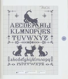 Les chats au point de croix - NINULYKA