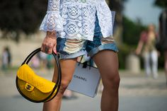 MY FASHION TRICKS: Street style: Fashion week (Paris)