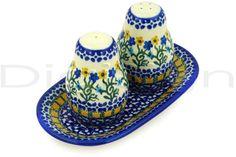 Image detail for -Polish Pottery Boleslawiec Stoneware Salt And Pepper Set 131 Ceramika ...