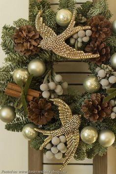 венок, рождество,  ветки, эко-декор, эко-интерьер