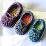 Baby Mary Jane Skimmers Pattern