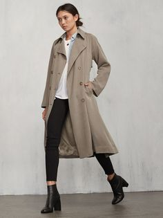 Here's the solution to every outfit problem you could ever have. The Kensington Trench is that perfect chic trench you can throw over everything to make it, well, better. https://www.thereformation.com/products/kensington-trench-camel?utm_source=pinterest&utm_medium=organic&utm_campaign=PinterestOwnedPins