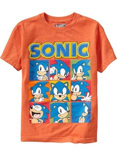 Old Navy | Boys Sonic The Hedgehog Tees-for Cane