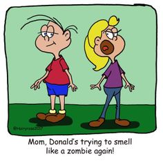 Need a Laugh? – H. Rose Cartoons - Zombie smells