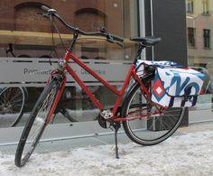 Fahrradtasche handgefertigt Berlin Unikate