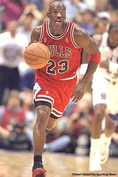 Loved watching Michael Jordan play basketball. I don't think anyone can play the game quite like he could.