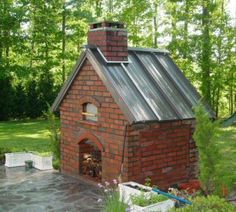 Build an Outdoor Pizza Oven | pizza oven project good photo record and pizza info