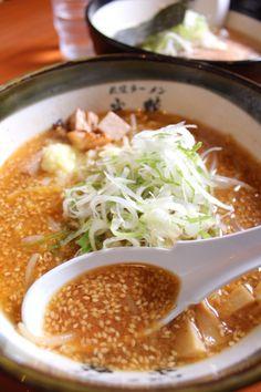 Sapporo Miso Ramen Noodle Soup, Hokkaido, Japan 札幌味噌ラーメン