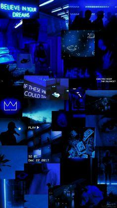 blue aesthetic Forgive me, God. I nevr b in me . Wallpaper Pastel, Dark Blue Wallpaper, Black Aesthetic Wallpaper, Iphone Background Wallpaper, Retro Wallpaper, Blue Wallpapers, Aesthetic Backgrounds, Aesthetic Iphone Wallpaper, Aesthetic Wallpapers