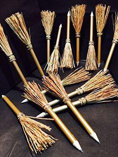 15 Mini Witch Pencils. 14cm.