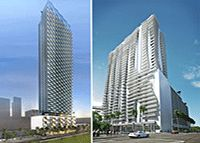 Multifamily developer ZOM revealed its plans for two rental projects in the Brickell area and downtown Miami.  Orlando-based ZOM released a pair of written statements detailing the company's unnamed Brickell high-rise and Montage at Met 3 tower on Monday. ZOM closed on the $16.8 million purc