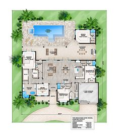 Narrow lot floor plan by weber design group narrow lot for Weber house plans