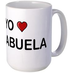 Yo Amo Mi Abuela Mugs on CafePress.com