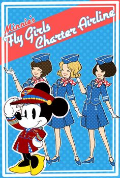 http://www.deviantart.com/art/Minnie-s-fly-girls-charter-airline-291800127