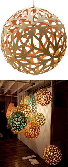 - LED Light Shade Floral cut out lamp / David Trubridge We have many on display in our store!Floral cut out lamp / David Trubridge We have many on display in our store! Diy And Crafts, Arts And Crafts, Paper Crafts, Paper Toys, Ballon Lampe, Diy Luminaire, Creation Deco, Ideias Diy, Paper Art