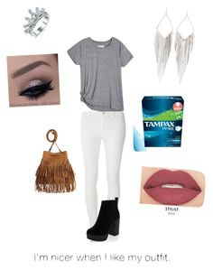 """""""day 1 of period"""" by animefashiondiva ❤ liked on Polyvore featuring Dorothy Perkins, New Look, Jules Smith and Smashbox"""