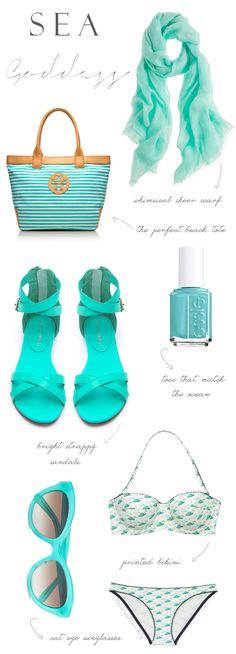 Turquoise Summer Accessories..get this look at SM Store SM City Manila