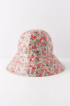 Fairweather Rain Hat, Flora