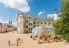 Modification of the Chateau Hill in Litomyšl,© Tomáš Malý