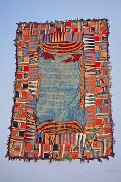 "archivenewyork: "" saddle cloth, tibet """