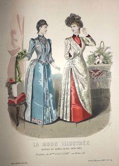 La Mode Illustrée 1889