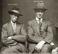 NSW police forensic photography archive, circa 1920