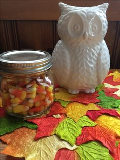 Halloween decorations candy corn easy crafts