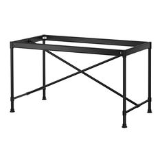 "KARPALUND Underframe IKEA 51.125""L x 28""h x 24.75""w $100.  Get two for a 12' long table base to seat 12."