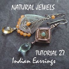 Tutorial 27 - Indian Earrings