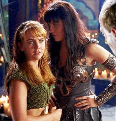 """"""" The Furies have punished her with both persecution and madness. Lucy Lawless, Xena Warrior Princess Cast, Princess Videos, Gina Torres, Fantasy Warrior, Classic Tv, Beautiful Actresses, Marvel, Persecution"""