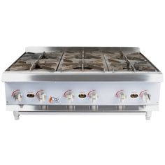 A countertop gas stove saves space without sacrificing cooking power! Shop WebstaurantStore today - choose from countertop gas ranges for your kitchen! Home Pizza Oven, Restaurant Kitchen Equipment, Outdoor Stove, Cooking Equipment, Summer Kitchen, Countertops, Kitchen Appliances, Kitchens, Plates