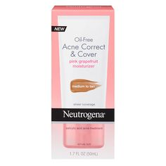 Neutrogena Oil-Free Acne Correct & Cover Medium to Tan