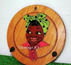 Aunt Jemima Wall Plaque
