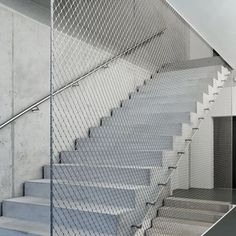 Stainless Steel Wire Rope Mesh Net Decorative Metal Fence Fabric picture from Hebei Weiyue Wire Mesh Products Co. view photo of Stainless Steel Rope Mesh Fence, Rope Mesh Fence, Rope Net. Stairs And Staircase, Steel Stairs, Loft Stairs, Stair Handrail, Modern Staircase, House Stairs, Staircase Ideas, Staircase Spindles, Spiral Staircases