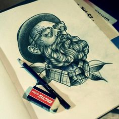 (by Sake Tattoo Crew) man men neo traditional traditionel tattoo tattooed ink inked