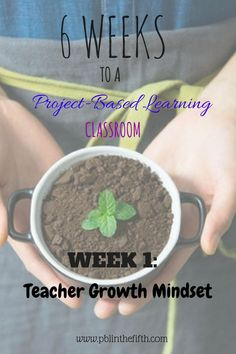 Stuck in a RUT?  START HERE to change up your teaching strategies!  Project Based Learning 6 week guide!