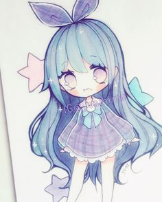 practicing clothing/cloth patterns again ;v; #chibi #copicmarkers #copic…
