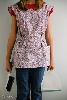 cobbler apron pattern | She loves wearing it as part of her outfit for the day. It has already ...