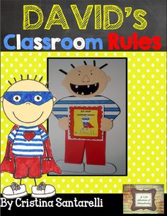 Classroom Rules Craftivity!!! Perfect for the First Week of School!