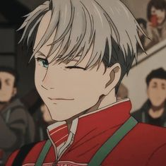 Ice Aesthetic, Aesthetic Anime, Ice Icon, Victor Nikiforov, Russian Boys, Yuuri Katsuki, Yuri Plisetsky, Bokuaka, Yuri On Ice