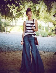 YES. Thank you, Free People. This is what I want when l'm searching for WIDE leg pants haha