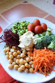 Veggie Super Bowl - a delicious, fresh, Daniel Plan meal